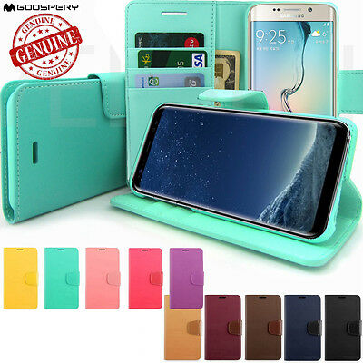 Slim Protective Flip Leather Wallet Case for iPhone XS / Galaxy S9 / Note 8/ G7