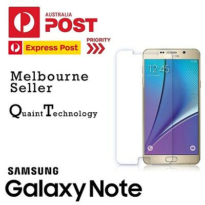 GENUINE Tempered Glass Screen Protector or Film for Samsung Galaxy Note 3 4 5