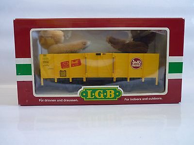 LGB 44210 wagon plat  ours steff