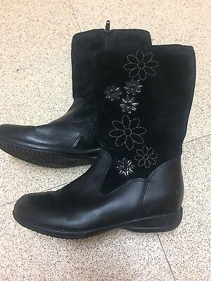 Clarks girls boots size 12