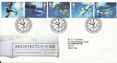 GB First Day Cover Architectsof the Air 1997