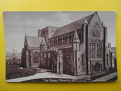 The Abbey PAISLEY Renfrewshire 1905 to Bank Buildings Govan