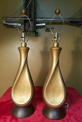 Art deco, Mid-century modern lamps.  made by American lamp company. *expensive*