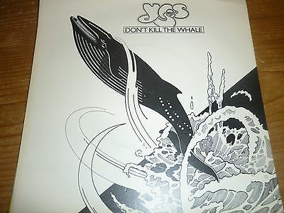 Yes. Dont Kill The Whale. 7 Inch Vinyl Single
