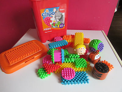 Lot de 30 pieces Clipo Playskool
