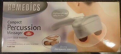Homedics Compact Percussion Hand Massager with Heat.