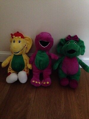 Barney, BJ And Baby Bop