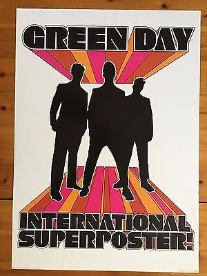 Green Day, International Superposter, Authentic, Licensed 2002 Poster