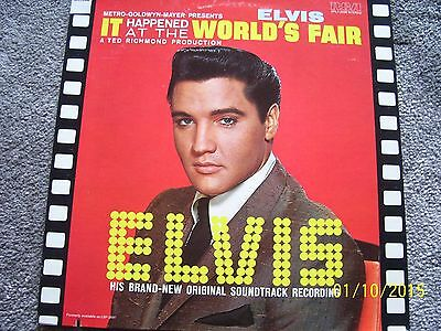' Elvis Presley ' - ' It Happened At The Worlds Fair'  - 1St Press - Collectable