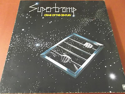 Supertramp: Crime Of The Century: Vinyl Lp Made In West Germany: A&m Label: Ois