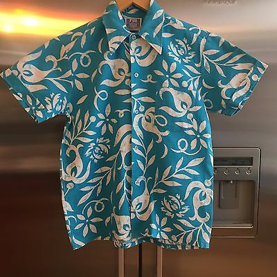 Boys Vintage Hawaiian shirt age 12-13