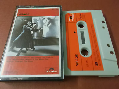 Visage: Same: S/t: Musikkassette (Audio Tape) Made In West Germany: Fade To Grey