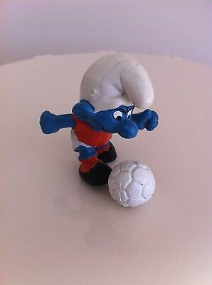 Soccer / football smurf Peyo West Germany painted in Portugal
