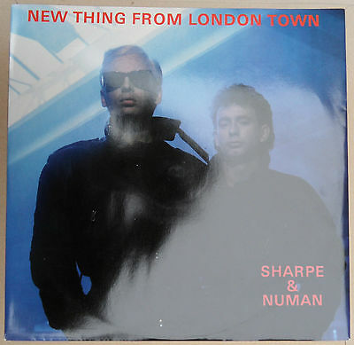 "12"" Gary Numan - New Thing From London Town P/S  UK 3 track 1986 Numa Recs  EX"