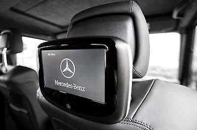 MERCEDES BENZ Rear Seat Entertainment Dual 7 DVD Players