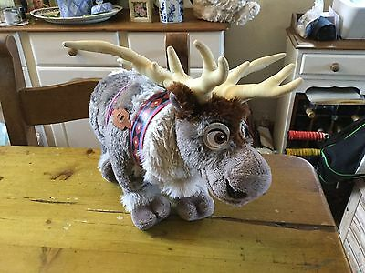 Disney Store Genuine Frozen Sven Soft/Plush Toy - Large VGC