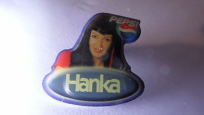 "orig. BIG BROTHER PIN ""HANKA"" STAFFEL 2, DSCHUNGELCAMP, 30x30 mm RAR"