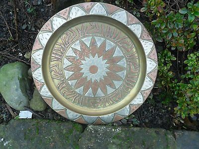 Arts And Crafts Copper Plate