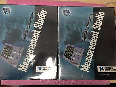 2x National Instruments Measurement Studio FDS Package for Windows 2000/NT/9X