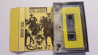 MC Pete Carson Demo '87 Private Country Western Eigenproduktion NO Vinyl NO CD