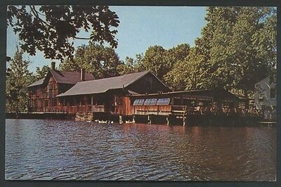 Cobb's Mill Inn Weston Connecticut Vintage Hotel Restaurant Postcard