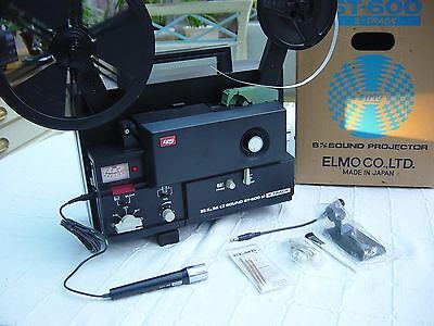 Elmo St-600 2 Track 8Mm Sound Projector