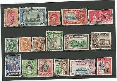 Commonwealth  Jamaica  Stamp  Collection