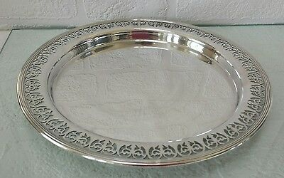 WS & S Epns A1  Vintage Silver Plated Serving Tray . No.709806