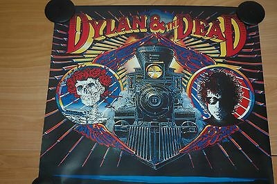 "Bob Dylan-""Dylan & The Dead"" Promotional Poster"