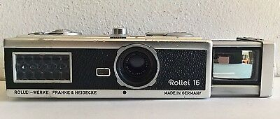 rollei 16 miniature camera (germany 1963)