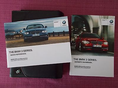 BMW 3 SERIES COUPE &  CONVERTIBLE WITH iDrive HANDBOOK - OWNERS MANUAL (BM 628)