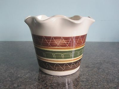 Dragon Pottery / Wales - Planter / Pot