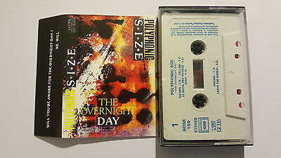 MC Polyphonic Size The Overnight Day rare New Rose minimal synth tape cassette