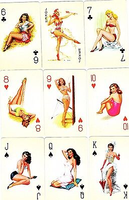 "RARE PACK ""Lovely Ladies - Pin Ups"" Playing Cards"