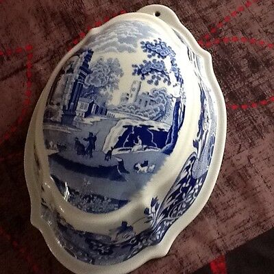 Spode Blue Italian Jelly Mould