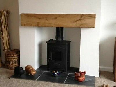 Solid Oak Beam Floating Shelf Wooden Mantel Piece Fireplace Surround Mantel