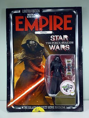 Empire Magazine Issue #319 Star Wars The Force Awakens Kylo Ren Action Figure