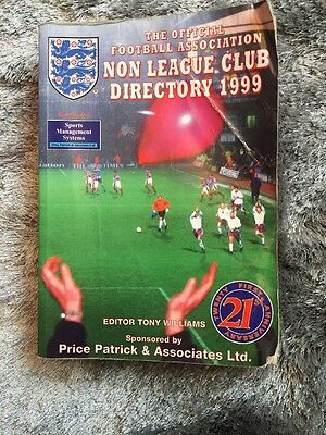 The Non-league Club Directory: 1999 by Tony Williams Publications (Paperback, 1…