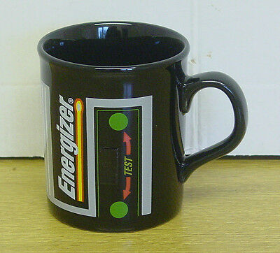 "Energizer Batteries ""Magic Mug"" - colour changes with temperature - unused"