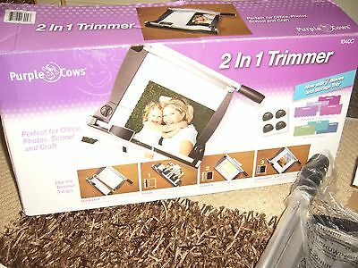 Purple Cow 2 In 1 Trimmer