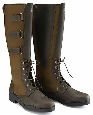 New Stunning ** Caldene Bredon **leather Long Riding Boots Size 5 Rrp £220