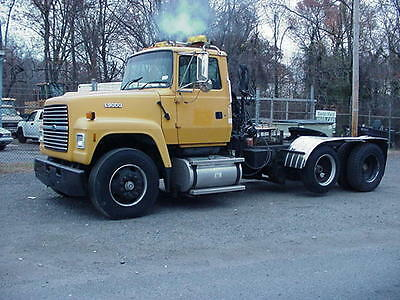 1995 Ford L9000 Cummins L10 Wet Line Kit and Winch Lift Axle 9 speed 1 owner