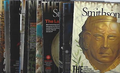 Lot of 11 issues of Smithsonian Magazine 2015-2017 . S2