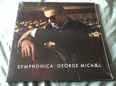 George Michael SEALED Symphonica  2 Vinyl LP's Very Rare Limited Pressing