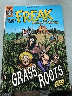 The Fabulous Furry Freak Brothers In Grass Roots