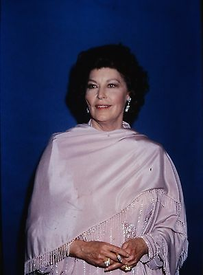 AVA GARDNER - US Actress - Original 35mm COLOR PORTRAIT Slide - 1990's