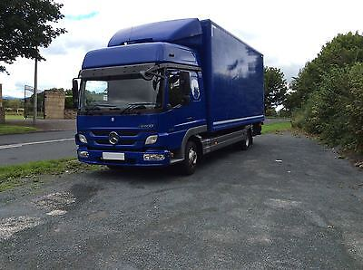 Mercedes Benz Atego 818 Hi Roof Sleeper Cab Truck Tail Lift 7.5 Ton 2012/12 Reg