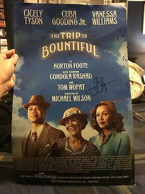 The Trip To Bountiful Broadway Signed Poster