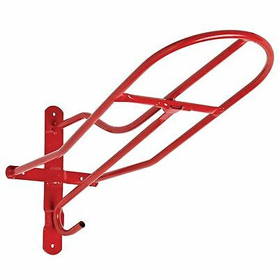 New Red ** Cottage Craft ** Wall Mounted Saddle Rack Tack Room Horse Box