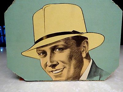 1930's Stetson Hat Advertising Sign Poster Board
